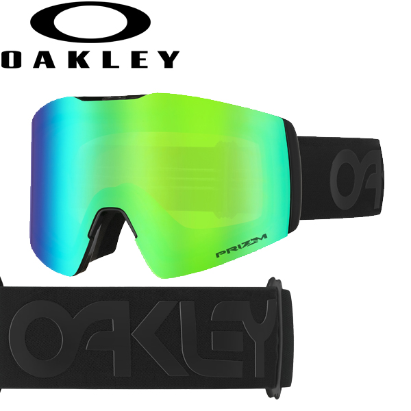 (10月初旬以降発送予定) オークリー OAKLEY スノー ゴーグル フォールライン XL OO7099-06 スタンダードフィット プリズム スノー ジェイド イリジウム ファクトリーパイロット ブラックアウト FALL LINE XL USAモデル