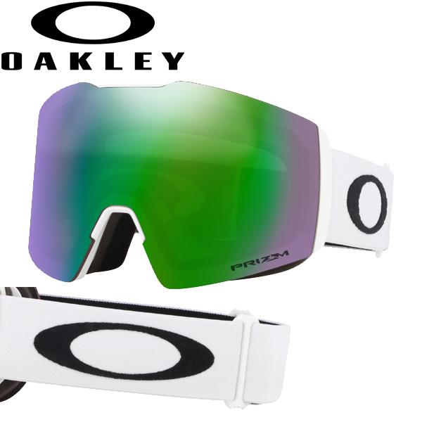 (10月初旬以降発送予定) オークリー OAKLEY スノー ゴーグル フォールライン XL OO7099-08 スタンダードフィット プリズム スノー ジェイド イリジウム マットホワイト FALL LINE XL USAモデル