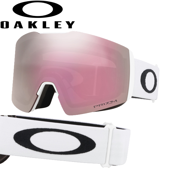 (10月初旬以降発送予定) オークリー OAKLEY スノー ゴーグル フォールライン XL OO7099-10 スタンダードフィット プリズム スノー ハイ インテンシティ ピンク マットホワイト FALL LINE XL USAモデル