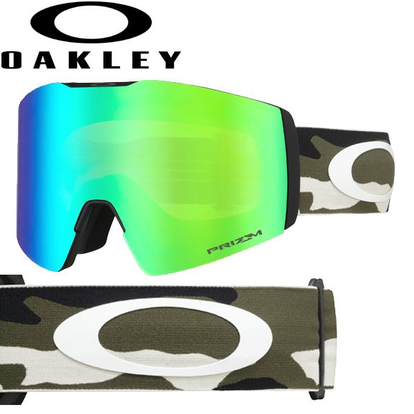 (10月初旬以降発送予定) オークリー OAKLEY スノー ゴーグル フォールライン XL OO7099-12 スタンダードフィット プリズム スノー ジェイド イリジウム ダーク ブラッシュ カモ FALL LINE XL USAモデル