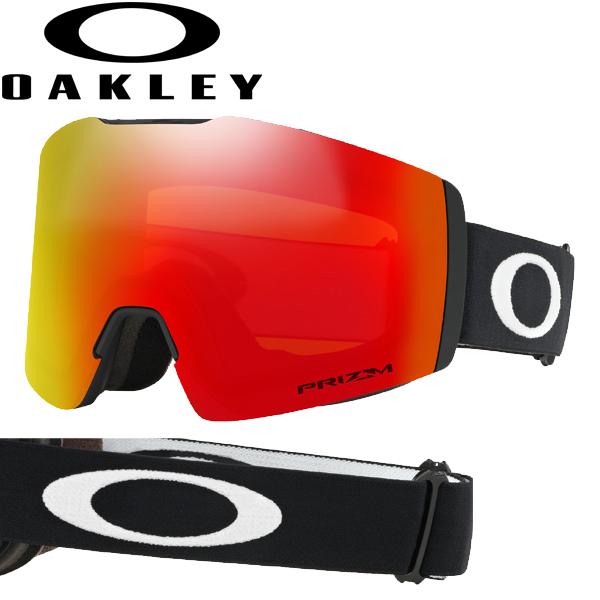 (10月初旬以降発送予定) オークリー OAKLEY スノー ゴーグル フォールライン XM OO7103-11 スタンダードフィット プリズム スノー トーチ イリジウム マットブラック FALL LINE XM USAモデル