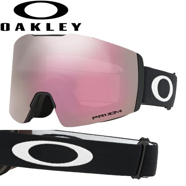 (10月初旬以降発送予定) オークリー OAKLEY スノー ゴーグル フォールライン XM OO7103-13 スタンダードフィット プリズム スノー ハイ インテンシティ ピンク マットブラック FALL LINE XM USAモデル