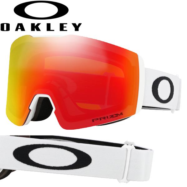 (10月初旬以降発送予定) オークリー OAKLEY スノー ゴーグル フォールライン XM OO7103-14 スタンダードフィット プリズム スノー トーチ イリジウム マットホワイト FALL LINE XM USAモデル