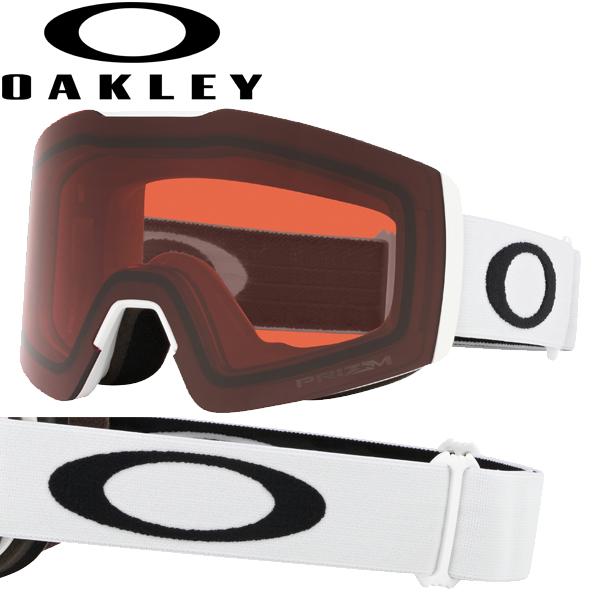 (10月初旬以降発送予定) オークリー OAKLEY スノー ゴーグル フォールライン XM OO7103-16 スタンダードフィット プリズム スノー ローズ マットホワイト FALL LINE XM USAモデル