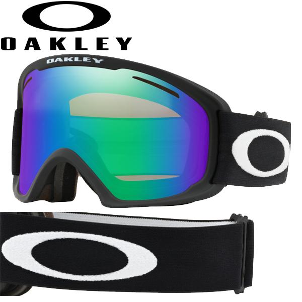 (10月初旬以降発送予定) オークリー OAKLEY スノー ゴーグル O フレーム 2.0 プロ XL OO7112A-02 アジアンフィット ジェイド イリジウム マットブラック O-FRAME 2.0 PRO XL USAモデル