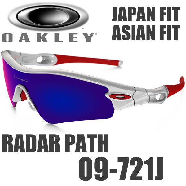 奥克利雷达路径太阳镜 09-721 抛光白色 / J 亚洲适合适合奥克利雷达路径美国模型红铱