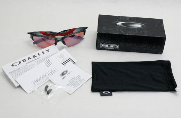 Oakley half jacket sunglasses 2.0 OO9153-11 Asian fit Japan fit OAKLEY HALF JACKET 2.0 USA model G30 Iridium / Crystal Black