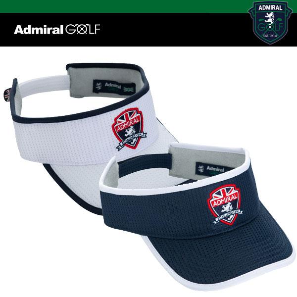 アドミラル ゴルフ メンズ エンブレム バイザー ADMB 915F ADMIRAL GOLF