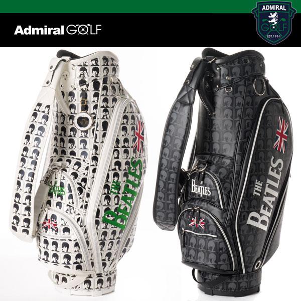 アドミラル ゴルフ スタンド キャディバッグ ADMG 7FC6 +ヘッドカバー(DR、FWx2)