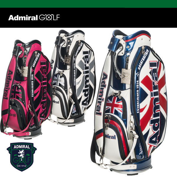 アドミラル ゴルフ キャディ バッグ 9.5型 46インチ対応 ADMG 7SC1 ADMIRAL GOLF