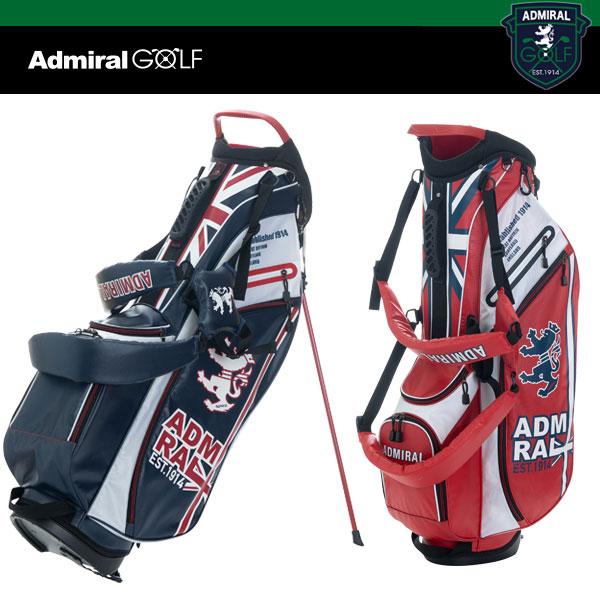 アドミラル ゴルフ ライトウェイト スタンド バッグ 9型 46インチ対応 ADMG 9SC8 ADMIRAL GOLF