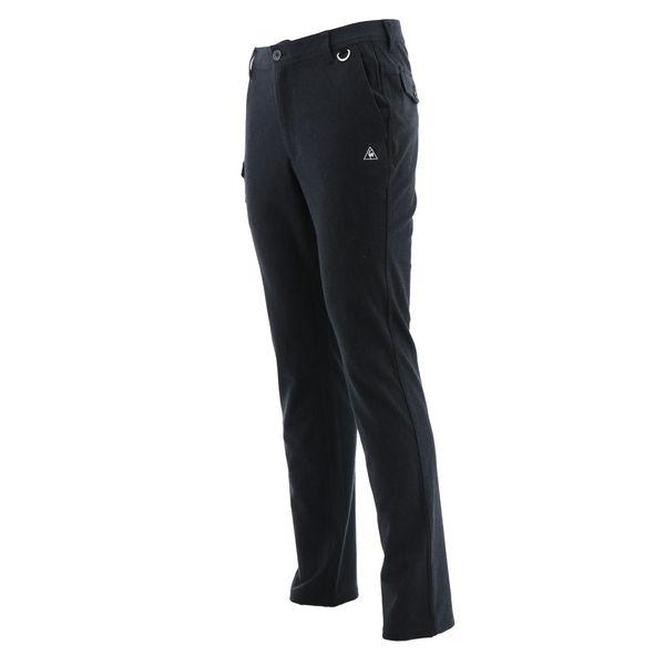 ルコック ゴルフウェア メンズ パンツ QGMMJD10 BK00 ブラック le coq sportif 秋冬 18fwct