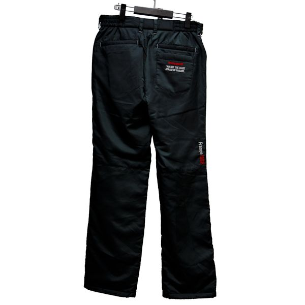 ルコック ゴルフウェア メンズ パンツ QGMMJD17AP BK00 ブラック le coq sportif 秋冬 18fwct