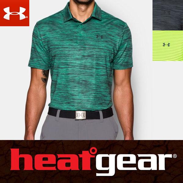 Under Armour HeatGear men's Golf short sleeve polo shirt 1253479 / UNDER ARMOUR GOLF SHORT SLEEVE POLO