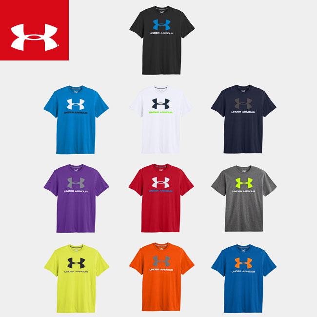 USA 모델 2014 년 언더 아머 남성 히트 기어 스포츠 스타일 반 팔 T 셔츠 1243496