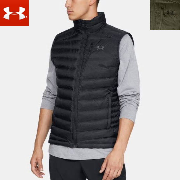 568a39e8c Under Armour men down vest zip up 1315998 (cold protection) UNDERARMOUR UA  Iso Down Men' s Vest