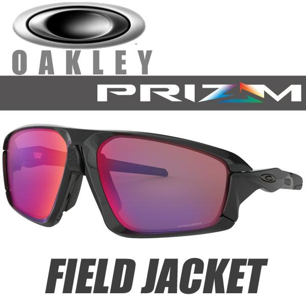 オークリー プリズム ロード フィールドジャケット サングラス OO9402-0164 スタンダードフィット OAKLEY PRIZM ROAD FIELD JACKET / ポリッシュドブラック