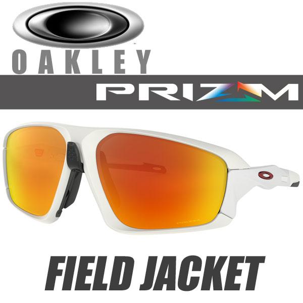 オークリー プリズム ルビー フィールドジャケット サングラス OO9402-0264 スタンダードフィット OAKLEY PRIZM RUBY FIELD JACKET / マットホワイト フレーム