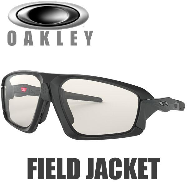 オークリー 調光レンズ フィールドジャケット サングラス OO9402-0664 スタンダードフィット OAKLEY PHOTOCHROMIC FIELD JACKET / マットブラック