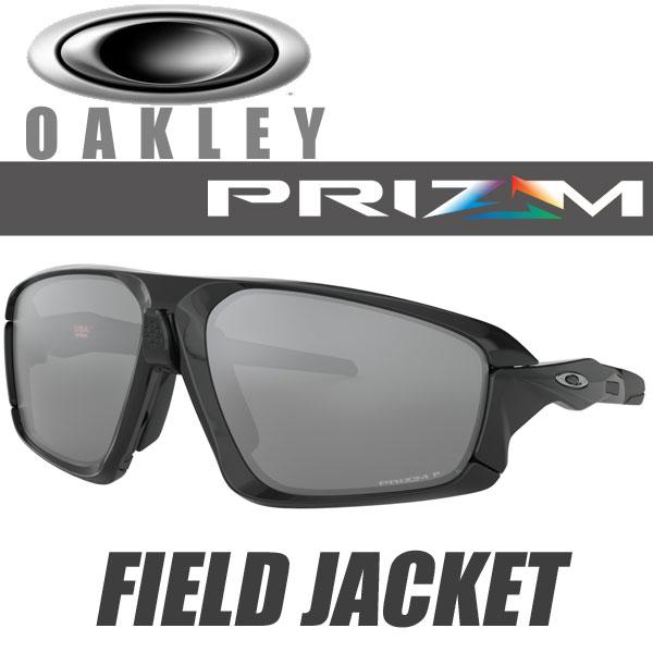 オークリー プリズム ブラック 偏光レンズ フィールドジャケット サングラス OO9402-0864 スタンダードフィット OAKLEY PRIZM BLACK POLARIZED FIELD JACKET / ポリッシュドブラック