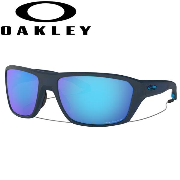 オークリー サングラス プリズム サファイア 偏光レンズ スプリットショット OO9416-0464 USモデル スタンダードフィット OAKLEY PRIZM SAPPHIRE POLARIZED SPLIT SHOT / マットトランスルーセントブルー