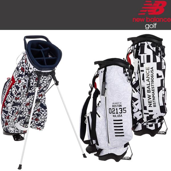 ニューバランス ゴルフ キャディ バッグ 012-9180002 / 日本正規品 2019年モデル 9.5インチ 46インチ対応 (NEW BALANCE)