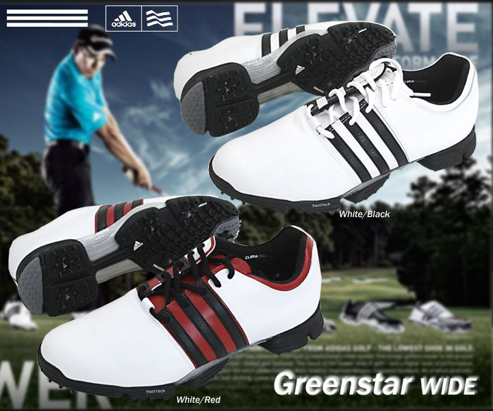 USA model adidas adidas green star wide golf shoes