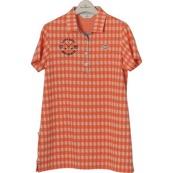 マンシングウェア レディース ゴルフウェア 半袖シャツ MGWLJA07 OR00 Munsingwear 春夏 18ssct