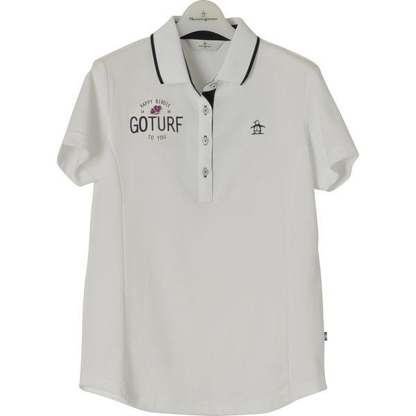 マンシングウェア MUNSING WEAR ゴルフ レディス 半袖シャツ MGWLJA17 WH00 18ssct