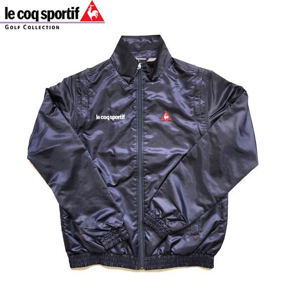 ルコック スポルティフ ゴルフ メンズ ジャケット ブルゾン 長袖 (袖取り外し可能) QGMMJK10BE NV00 ネイビー le coq sportif GOLF 18fwpz