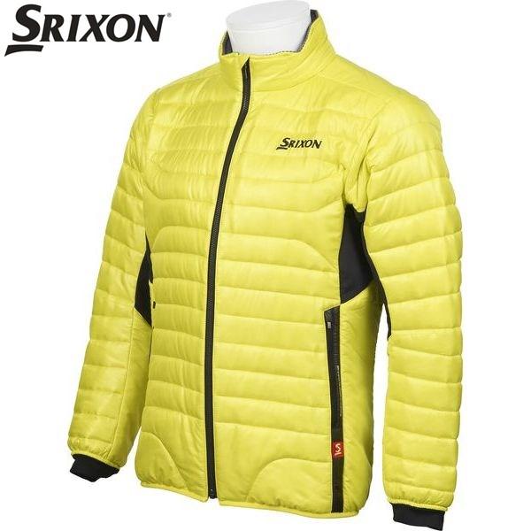 ダンロップ スリクソン DUNLOP SRIXON ゴルフ メンズ 長袖フルジップ中綿ジャケット アウター SRM4077F SLS サルファースプリング 17fwcz