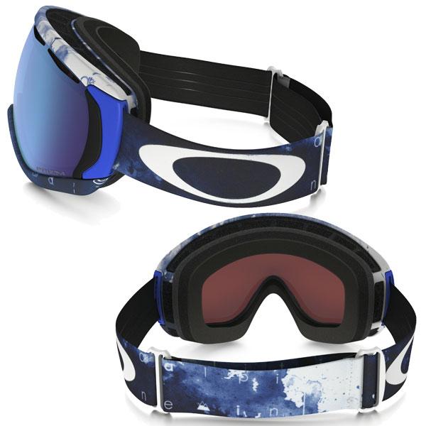 Oakley snow goggles JP Eau Claire Prism canopy OO7047-19 Asian fit fit OAKLEY SNOW GOGGLE JP AUCLAIR PRIZM CANOPY Prism Sapphire Iridium / white out