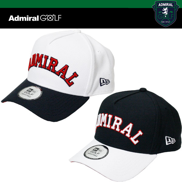 アドミラル x ニューエラ コラボ ゴルフ キャップ ADMB 721F(Admiral x NEW ERA)