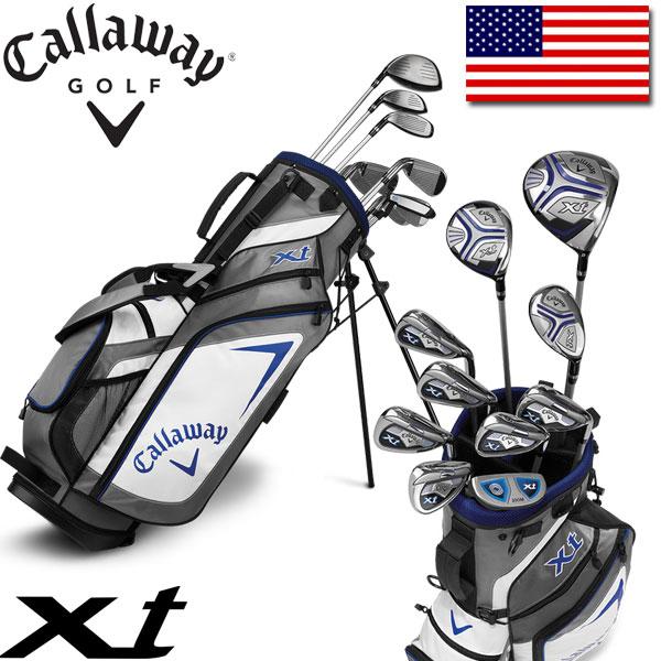 キャロウェイ ゴルフ ティーン ジュニア XT セット (クラブ 10本 + キャディバッグ + ヘッドカバー) Callaway XT 10 Piece Teen Set