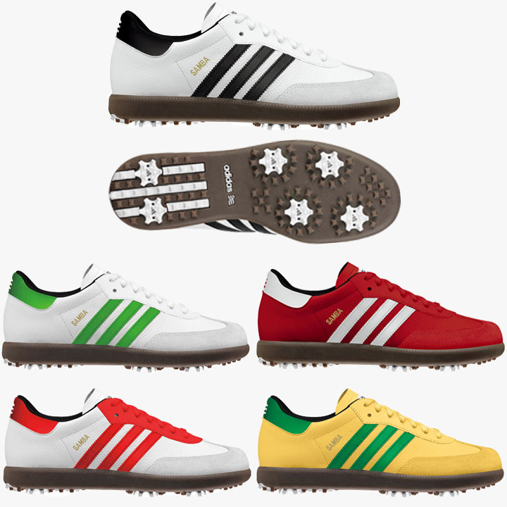 Instant new Japan specifications adidas Samba shoes golf shoes