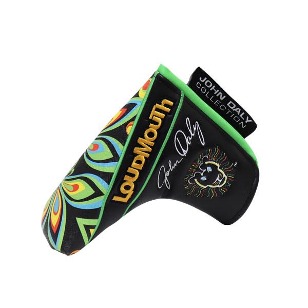 ラウドマウス メンズ レディース ヘッドカバー ジョン・デイリー コレクション ゴルフ ピン型 ブレード型 パター用 JD- HC0001/PN