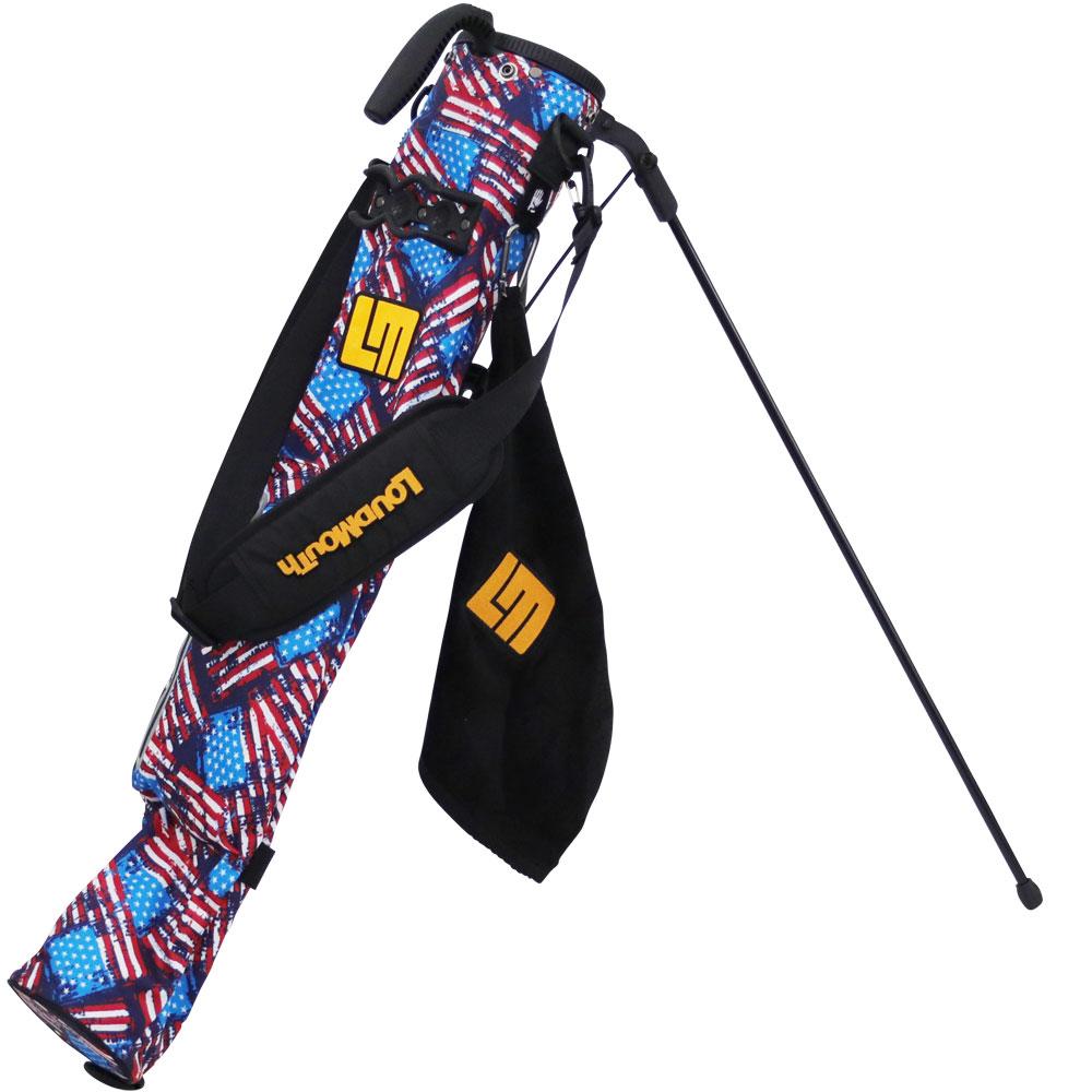 ラウドマウス LOUDMOUTH ゴルフ メンズ レディース スタンド クラブケース LM- CC0003 158 アンティークフラッグ (antique flag) 18fw