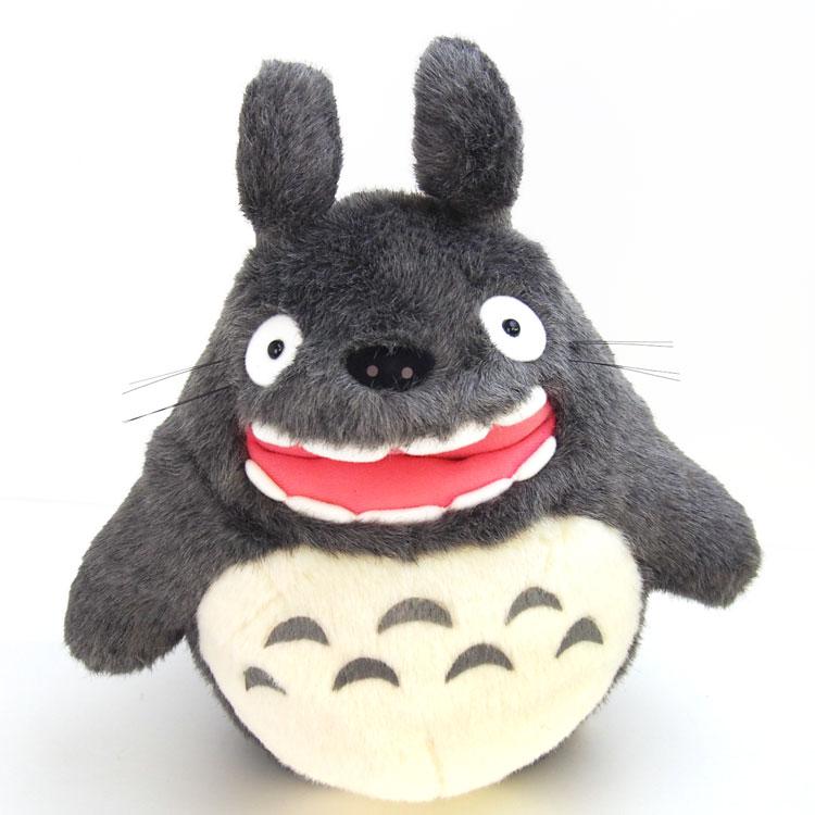 【送料無料】【となりのトトロ】ぬいぐるみ/L(大トトロ)★吠え★