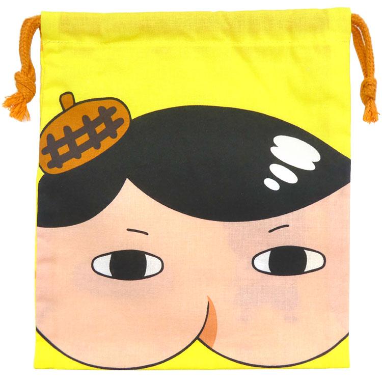 チープ おしりたんてい グッズ 顔きんちゃく 人気ブレゼント! フェイス巾着 コップ袋 給食袋 子供 キッズ ラッピング不可 エンスカイ ギフト プレゼント 絵本キャラクター 20rm かわいい