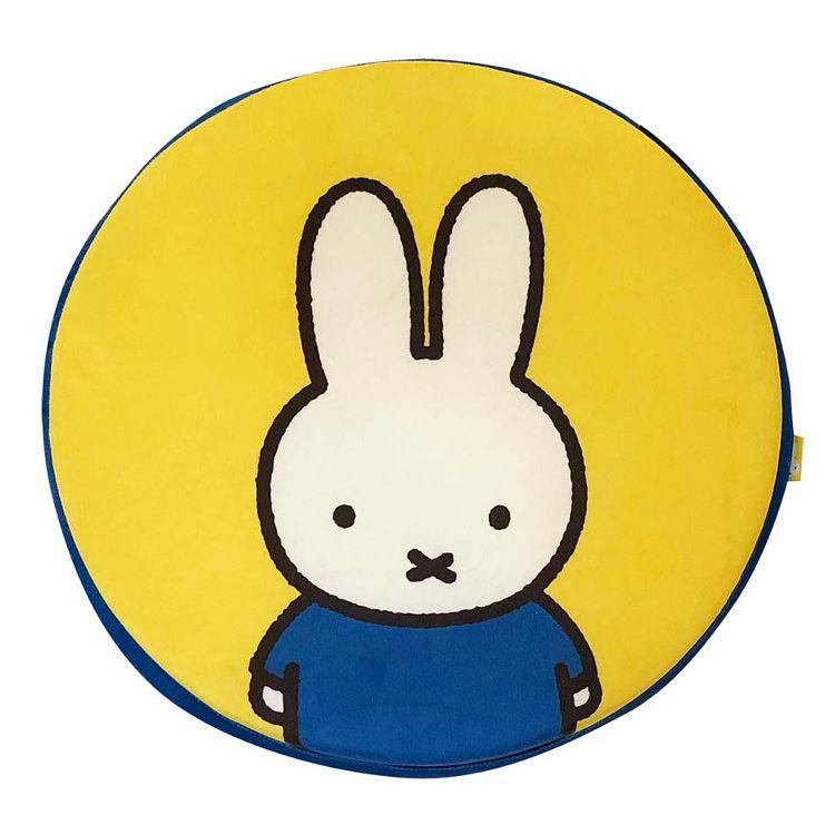 椅子クッション 上品 円型 キャラクター 超激安 ミッフィー シートクッション サークル 448896