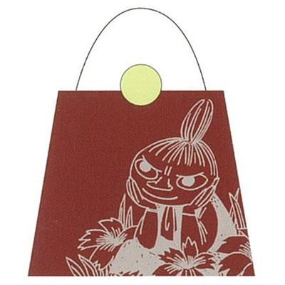 かわいい キャラクター 期間限定特別価格 ムーミン ブランド激安セール会場 バッグ型メモ レッド