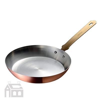 AUX ameiro フライパン20 -FRYPAN20- アメイロ 純銅製/キッチン/台所/オムレツ/ホットケーキ/パンケーキ/日本製/オークス