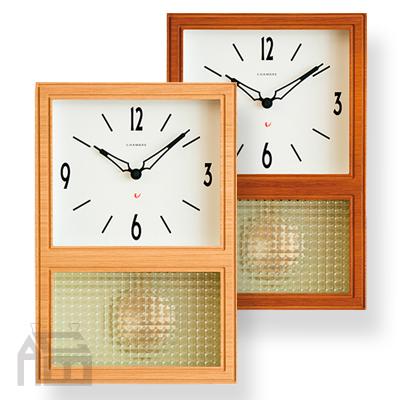 CHAMBRE GLASS PENDULUM CLOCK ペンデュラムクロック シャンブル 振子時計 インターゼロ/掛時計/かけ時計/壁掛け時計/北欧/おしゃれ/デザイン時計/インテリア時計/振り子時計