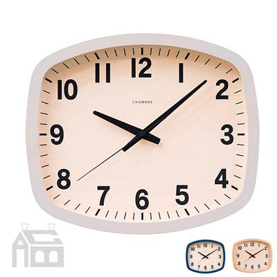 CHAMBRE R-SQUARE CLOCK R-スクエアクロック シャンブル インターゼロ/掛時計/かけ時計/壁掛け時計/北欧/おしゃれ/デザイン時計/インテリア時計