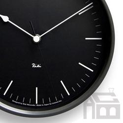 Lemnos Riki Steel Clock レムノス リキ クロック RC WR08-24 電波時計 掛け時計/かけ時計