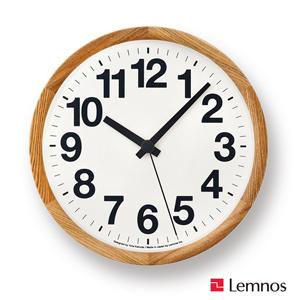 Lemnos ClockA レムノス クロックエー YK14-05 掛け時計/かけ時計