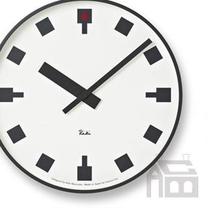 Lemnos WR12-03 レムノス 日比谷の時計  掛時計/掛け時計/かけ時計/壁掛け/北欧/おしゃれ/デザイン時計/インテリア時計