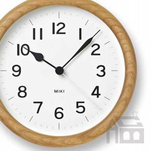 Lemnos NY12-06 MIKI レムノス ミキ 掛時計/掛け時計/かけ時計/壁掛け/北欧/おしゃれ/デザイン時計/インテリア時計