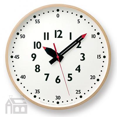 Lemnos fun pun clock L レムノス フンプンクロック YD14-08L YD14-08L YD14-08L  掛時計/掛け時計/かけ時計/壁掛け/北欧/おしゃれ/デザイン時計/インテリア時計 c44