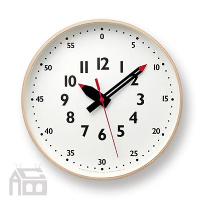 クーポン対象商品 高級 Lemnos fun pun clock M レムノス フンプンクロック YD14-08M かけ時計 インテリア時計 デザイン時計 壁掛け 北欧 掛け時計 おしゃれ 掛時計 驚きの価格が実現